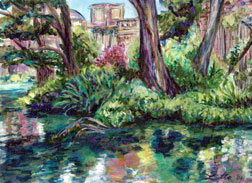 Palace of Fine Arts - Serenity (Painting)