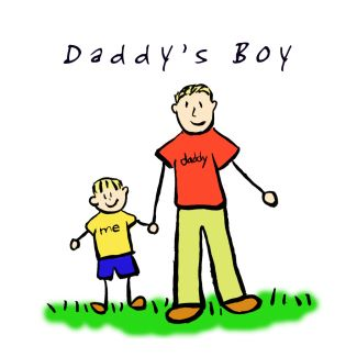 Daddy's Boy Illustration