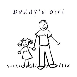 Daddy's Girl Drawing