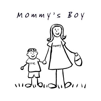 Mommy's Boy Drawing