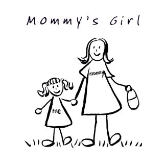 Mommy's Girl Drawing
