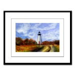 Cape Pogue Framed Print