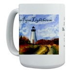 Cape Pogue Lighthouse Mug