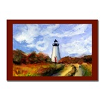 Cape Pogue Lighthouse Postcard